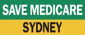 Save Medicare Sydney logo