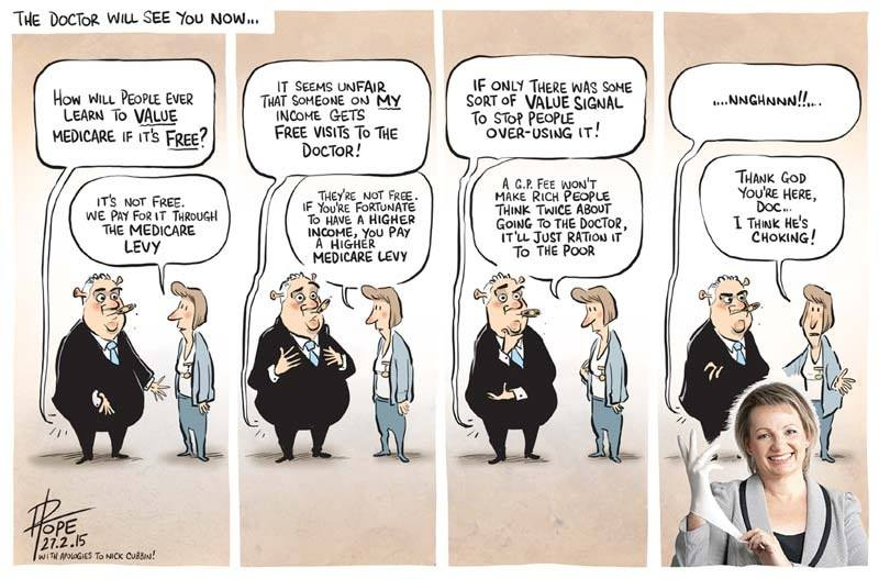 David Pope cartoon 27 2 2015
