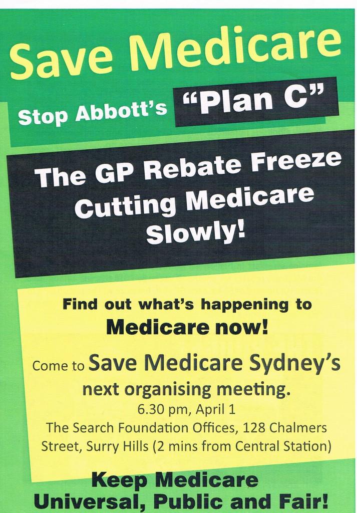 save medicare leaflett22032015